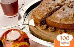 Фото рецепта: «Простой ореховый пирог»
