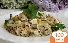 Фото рецепта: ««Кассероль» с курицей, киноа и сладким перцем»