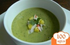 Фото рецепта: «Холодный суп из авокадо»