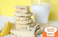 Фото рецепта: «Лимонное печенье с белым шоколадом»