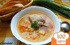 Фото рецепта: «Суп со свиными ребрышками»