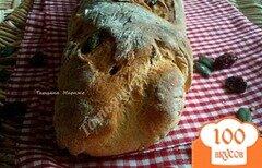 Фото рецепта: «Багет с тыквенными семечками и сушеной клюквой»
