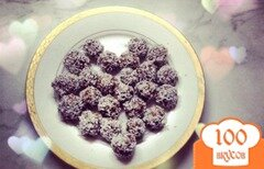 """Фото рецепта: «Шоколадные конфеты """"Рафаэлло""""»"""