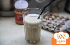 Фото рецепта: «Молочный энергетический коктейль на утро»