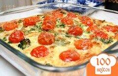 Фото рецепта: «Цветной пирог с овощами»