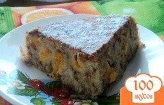 Фото рецепта: «Пирог с мандаринами в мультиварке»