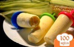 Фото рецепта: «Кукурузное мороженое»