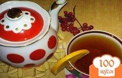 Фото рецепта: «Апельсиновый чай с рябиной»