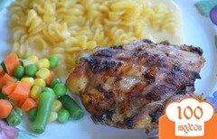 Фото рецепта: «Куриные бедрышки с имбирем»