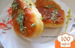 Фото рецепта: «Пирожки с картофельным пюре с чесночной заправкой»