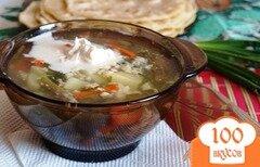 Фото рецепта: «Лёгкий суп с яйцом»