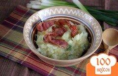 Фото рецепта: «Ирландское картофельное пюре Colcannon»