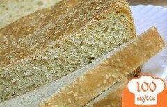 Фото рецепта: «Кукурузный хлеб с кунжутом»