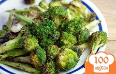 Фото рецепта: «Брокколи на сковороде»
