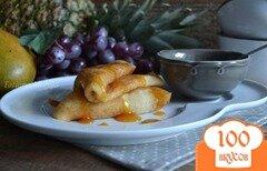 Фото рецепта: «Блинчики на фруктовом йогурте»