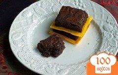 Фото рецепта: «Брауни с двойным шоколадом»