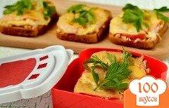 Фото рецепта: «Горячие бутерброды со свининой»