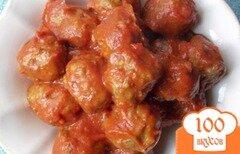 Фото рецепта: «Мясные шарики в соусе»