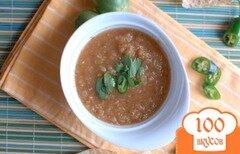 Фото рецепта: «Сальса верде с зелеными помидорами»