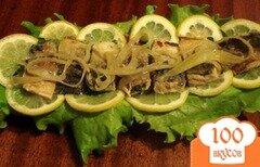 Фото рецепта: «Маринованная скумбрия»