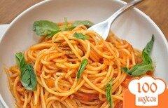 Фото рецепта: «Спагетти аль помодоро»