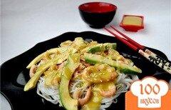 "Фото рецепта: «Салат ""Эби авокадо""(по мотивам японской кухни)»"