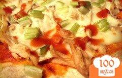 Фото рецепта: «Пицца Буффало с куриным филе»