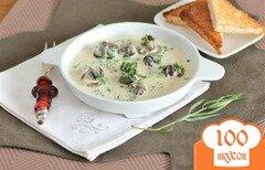 Фото рецепта: «Улитки в сливочном соусе с Бренди»
