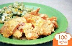 Фото рецепта: «Куриные грудки в сливочном соусе»