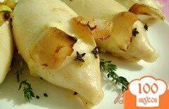 """Фото рецепта: «Фаршированные кальмары """"Аппетитные хрюшки""""»"""