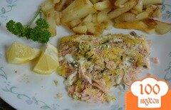 Фото рецепта: «Семга с лимоном и тимьяном»