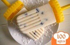 Фото рецепта: «Рисовый пудинг-эскимо»