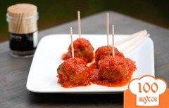 Фото рецепта: «Сладко-терпкие мясные фрикадельки»