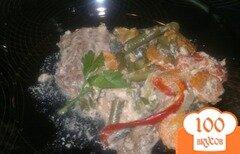 Фото рецепта: «Телятина с овощами в духовке»