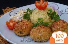 Фото рецепта: «Куриные котлеты с овощами»