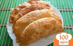 Фото рецепта: «Чебуреки с капустой»