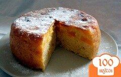 Фото рецепта: «Апельсиновый пирог в мультиварке»