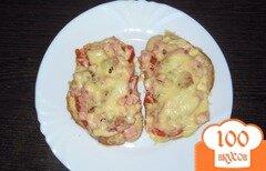 Фото рецепта: «Горячие бутерброды»