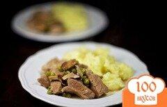 Фото рецепта: «Мясо с лисичками»