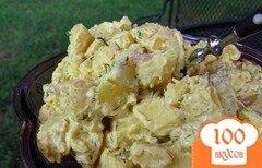 Фото рецепта: «Летний картофельный салат»