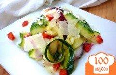 Фото рецепта: «Салат с цуккини»
