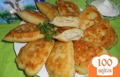 Фото рецепта: «Пирожки с мясом из картофельного теста»