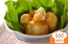 Фото рецепта: «Салат из таро с камамбером»