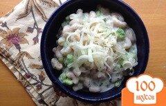 Фото рецепта: «Паста с брокколи в сырном соусе»