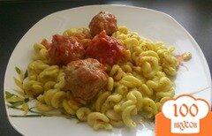 Фото рецепта: «Мясные шарики по -португальски»