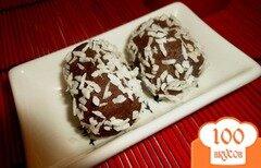 Фото рецепта: «Домашнее пирожное а-ля картошка»