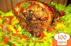 Фото рецепта: «Свиная рулька..»