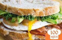 Фото рецепта: «Бутерброды на завтрак»