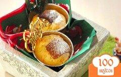 Фото рецепта: «Шоколадно-карамельные мини-торты»