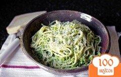 Фото рецепта: «Спагетти с брокколи»